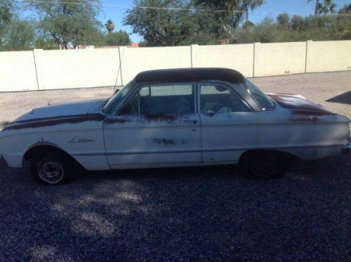 1963 Ford Falcon 2 Door Manual For Sale in Phoenix, AZ
