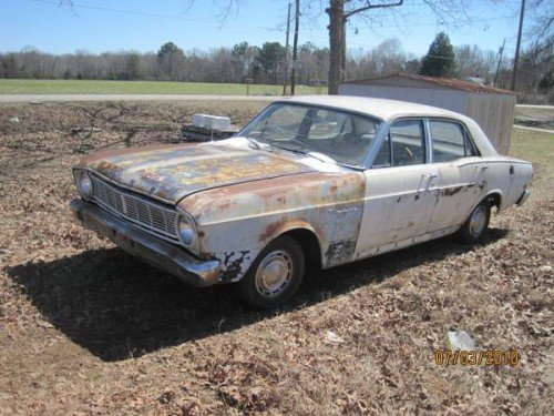1966 Ford Falcon 4DR Sedan V6 Auto For Sale in Athens, AL