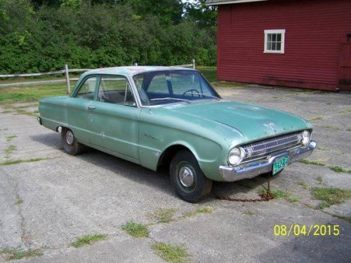 1961 ford falcon 2dr coupe v6 manual for sale in buffalo ny. Black Bedroom Furniture Sets. Home Design Ideas