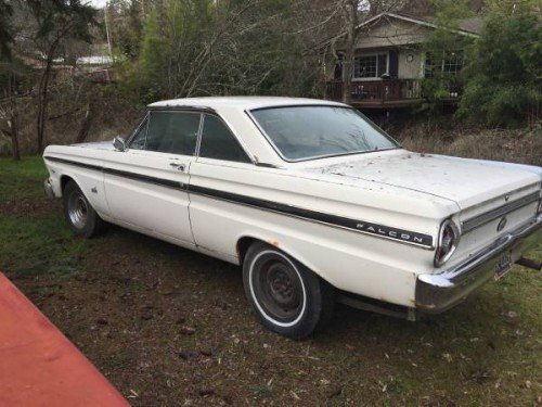 1965 Ford Falcon 2DR Coupe 289 V8 Auto For Sale in Medford OR